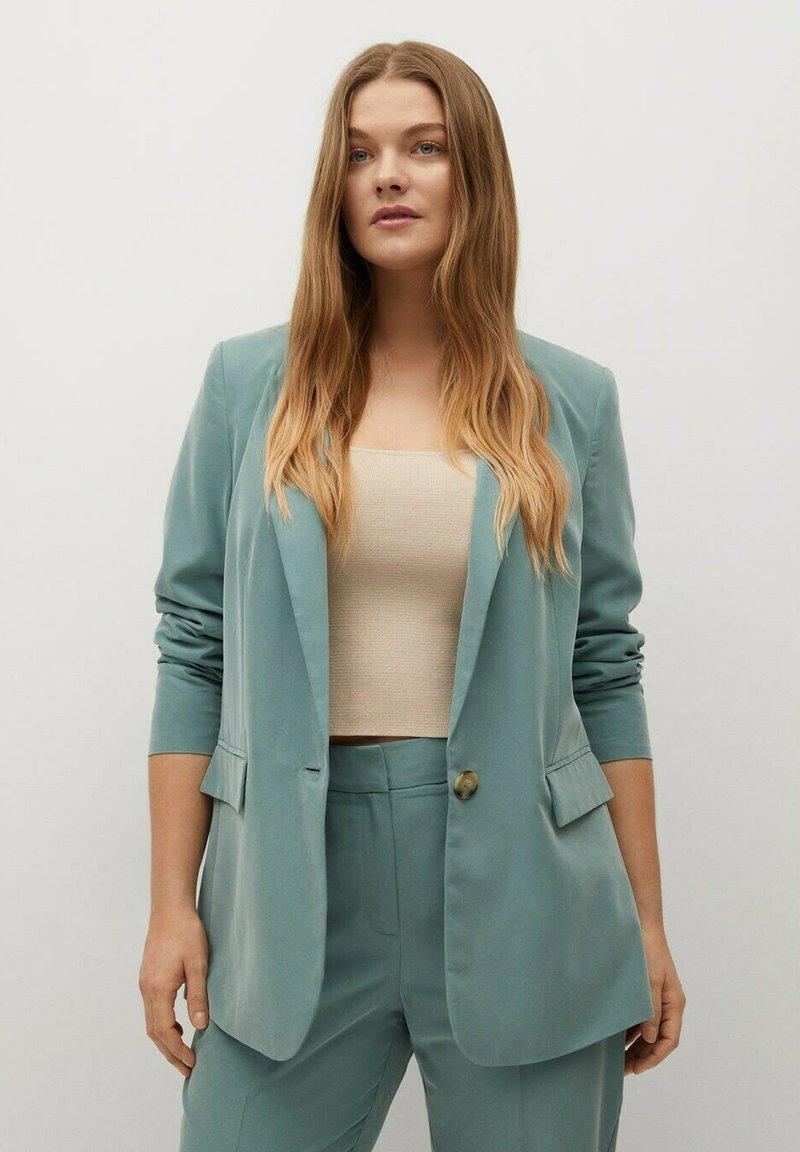 Violeta by Mango - FLEW - Short coat - grün