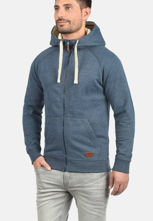 SPEEDY - Zip-up hoodie - ensign blu