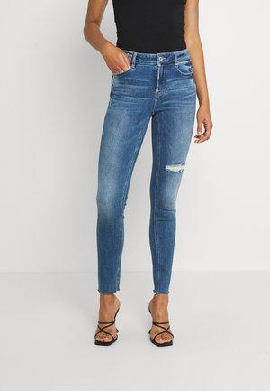 MY MAGIC CROPPED - Skinny džíny - middle blue