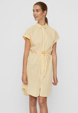 Shirt dress - banana cream