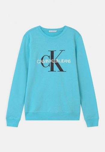 MONOGRAM LOGO UNISEX - Sweatshirts - bright sky