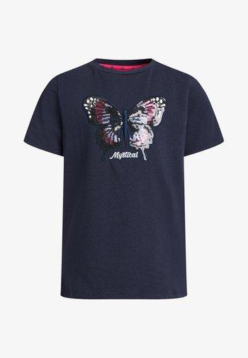 MEISJES  - T-shirts print - dark blue