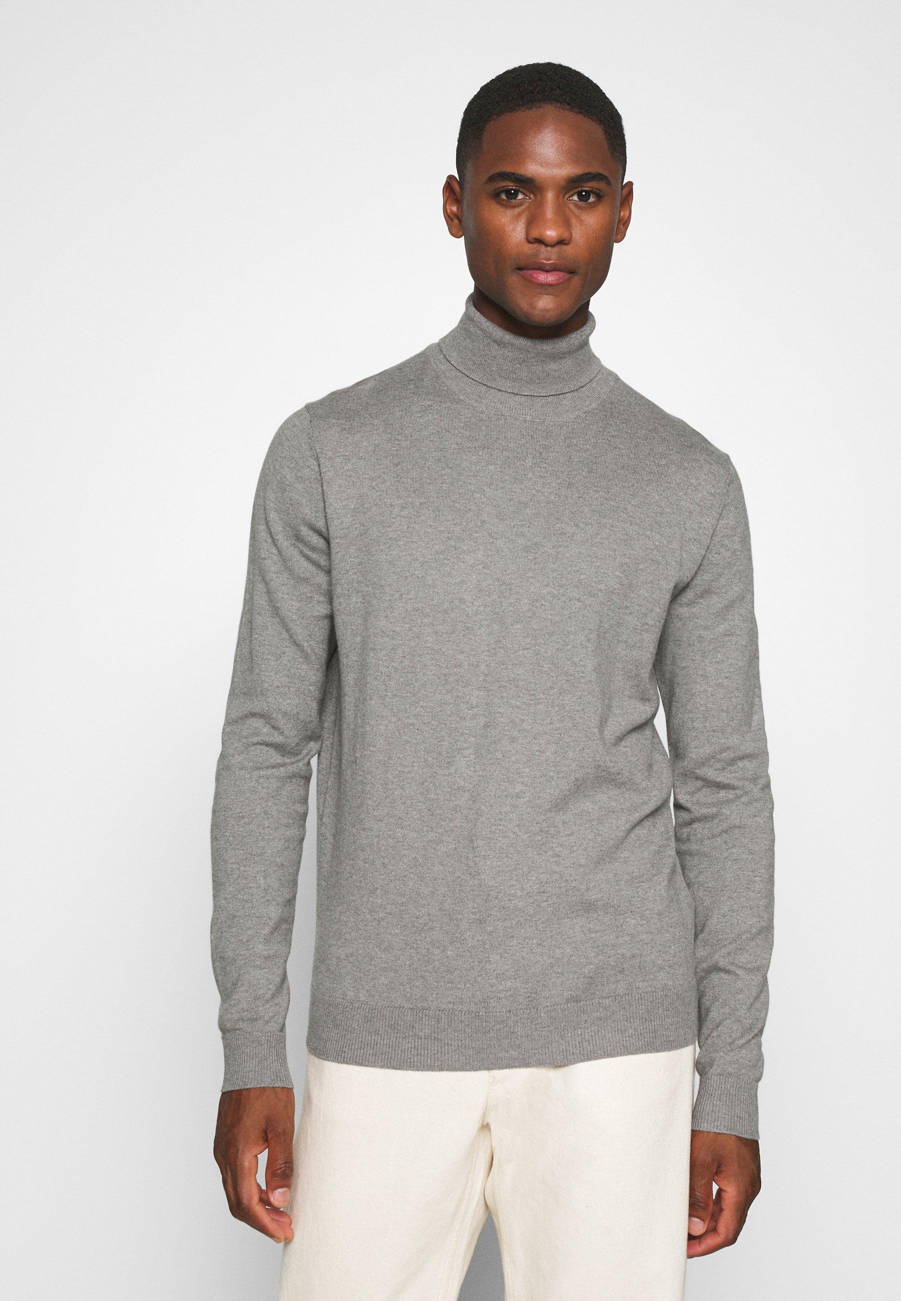 Men Jumper - medium grey