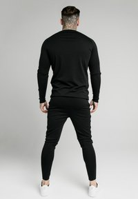 SIKSILK - RETRO GYM TEE - Maglietta a manica lunga - black - 2
