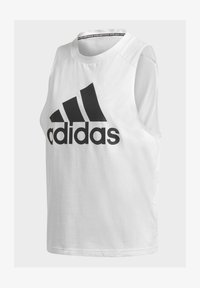 adidas Performance - BADGE OF SPORT COTTON TANK TOP - Top - white - 8