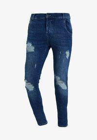 DISTRESSED - Jeans Skinny Fit - midstone