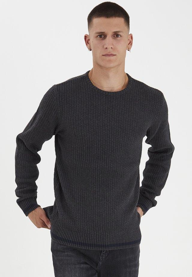 Sweter - dark grey melange