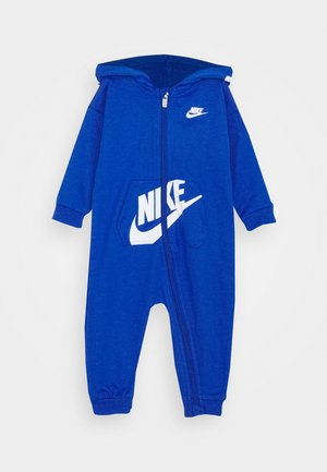 HOODED BABY COVERALL UNISEX - Jumpsuit - game royal