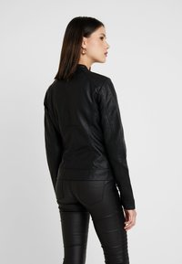 ONLY - BANDIT BIKER - Veste en similicuir - black - 2