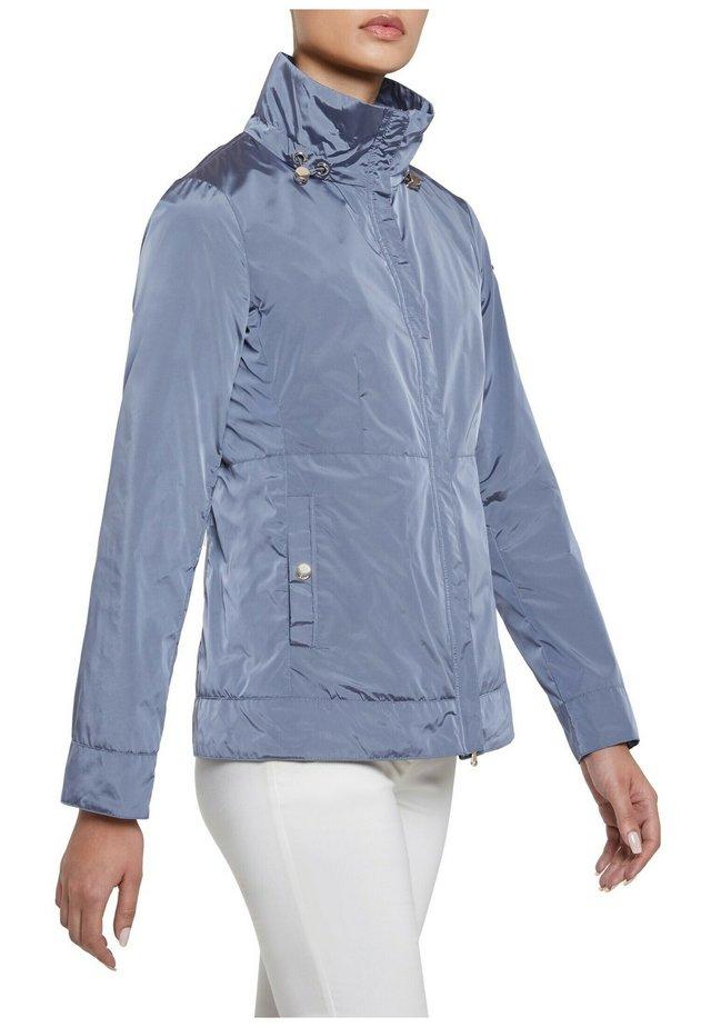 Summer jacket - dark pervinca