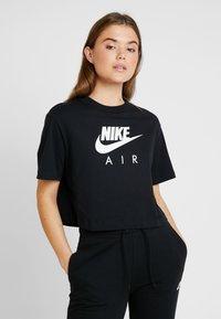 Nike Sportswear - AIR  - Print T-shirt - black - 0
