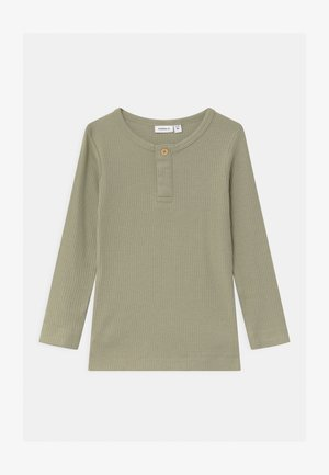 NMMKABILLE - Long sleeved top - silver sage