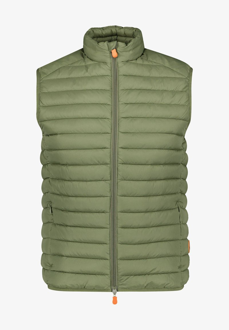 Save the duck - Waistcoat - oliv