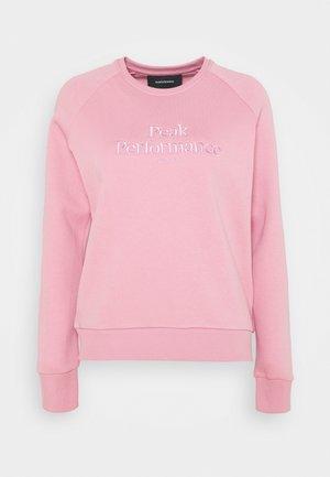 ORIGINAL CREW - Sweatshirt - frosty rose
