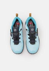 Salomon - X ULTRA 4 GTX - Hiking shoes - crystal blue/black/cumin - 3