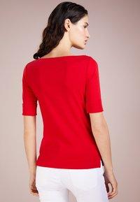 Lauren Ralph Lauren - Basic T-shirt - lipstick red - 2