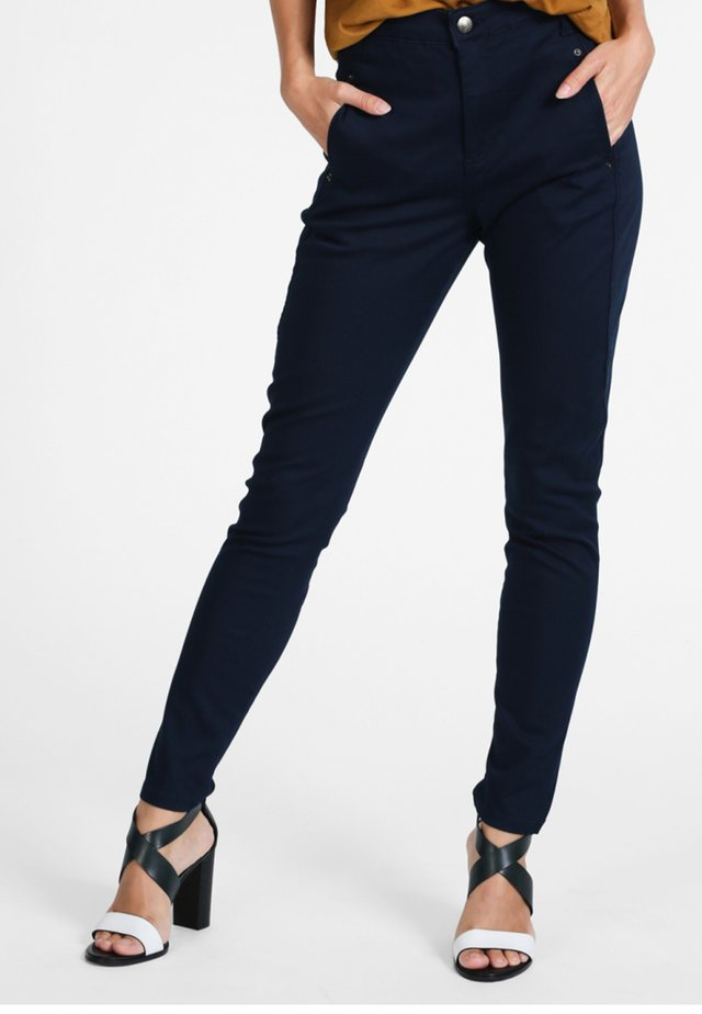 JOLIE - Trousers - navy