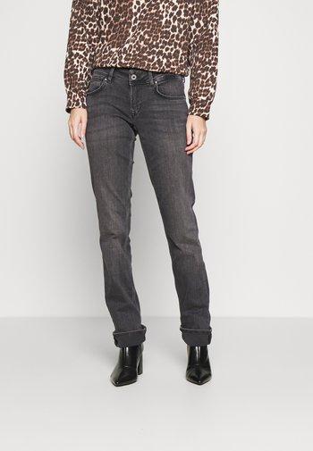 HOLLY - Straight leg jeans - black denim
