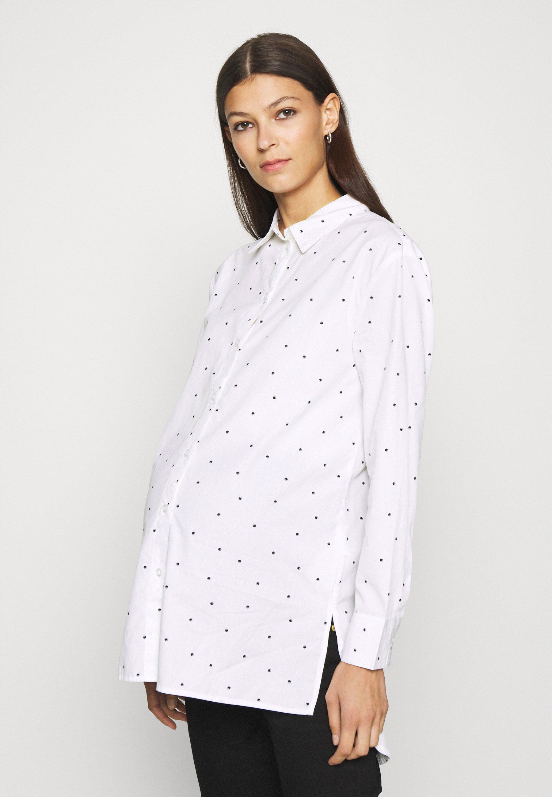 Women PCMELOISE LONG - Button-down blouse