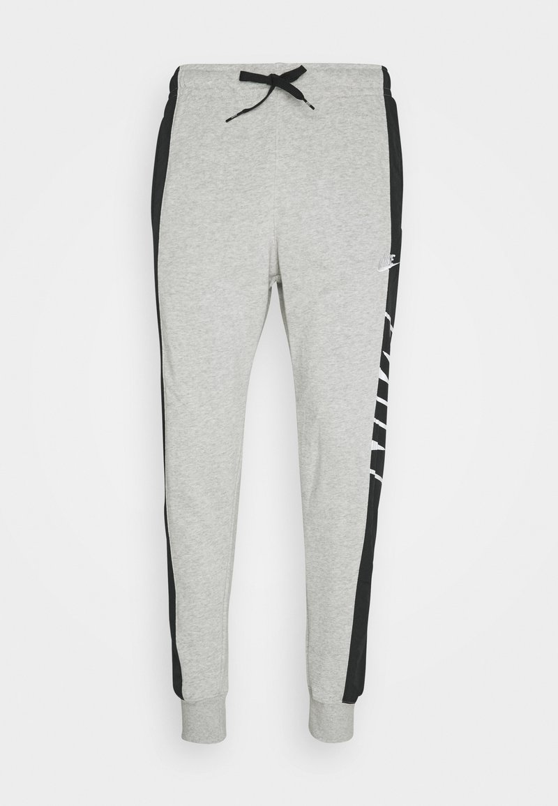 Nike Sportswear - Tracksuit bottoms - grey heather/black/white