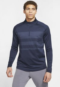 Nike Golf - T-shirt de sport - obsidian/diffused blue/obsidian - 0
