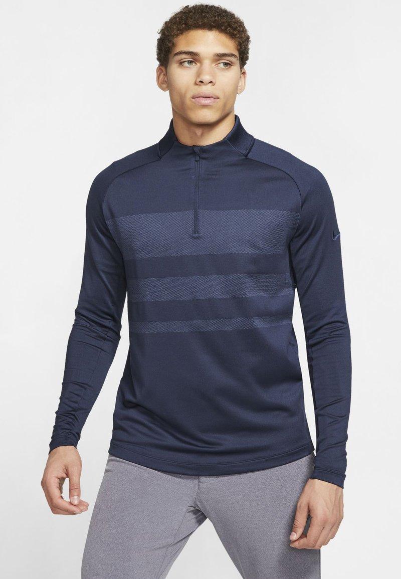 Nike Golf - Funkční triko - obsidian/diffused blue/obsidian