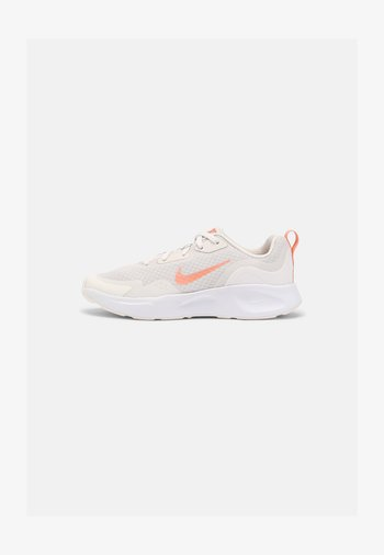 WEARALLDAY  - Sneaker low - platinum tint/crimson bliss/white