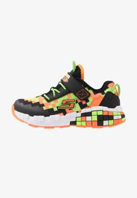 Skechers - MEGA-CRAFT - Tenisky - black/orange/lime - 0
