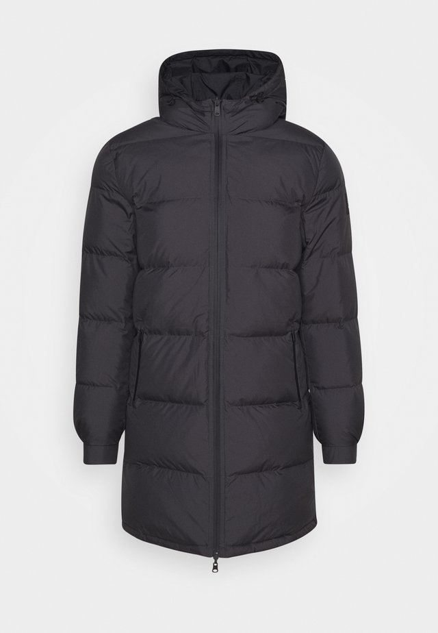 REVERSIBLE - Winter coat - caviar