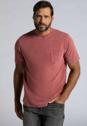 Basic T-shirt - rostrot