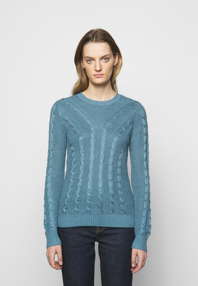 Sweter - provincial blue