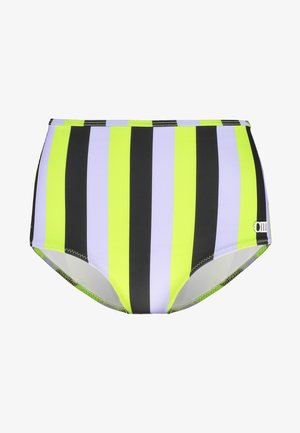 THE KIKI BOTTOM - Bikini bottoms - lavender/lime/black
