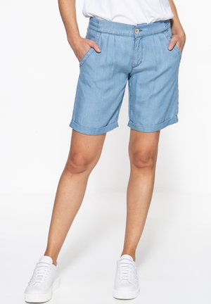 Denim shorts - blau