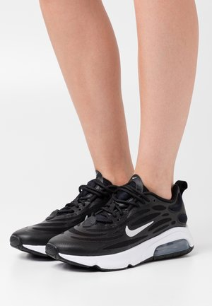 AIR MAX EXOSENSE - Joggesko - black/metallic silver/white