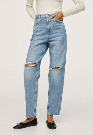Jeans Tapered Fit - bleu moyen