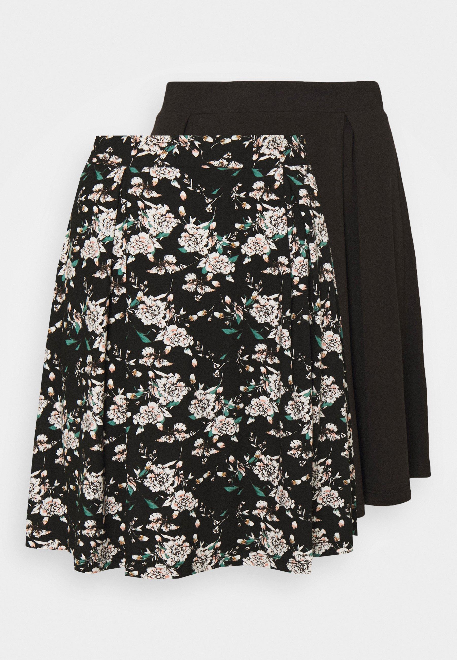 Women VIBE SHORT SKIRT 2 PACK - Mini skirt
