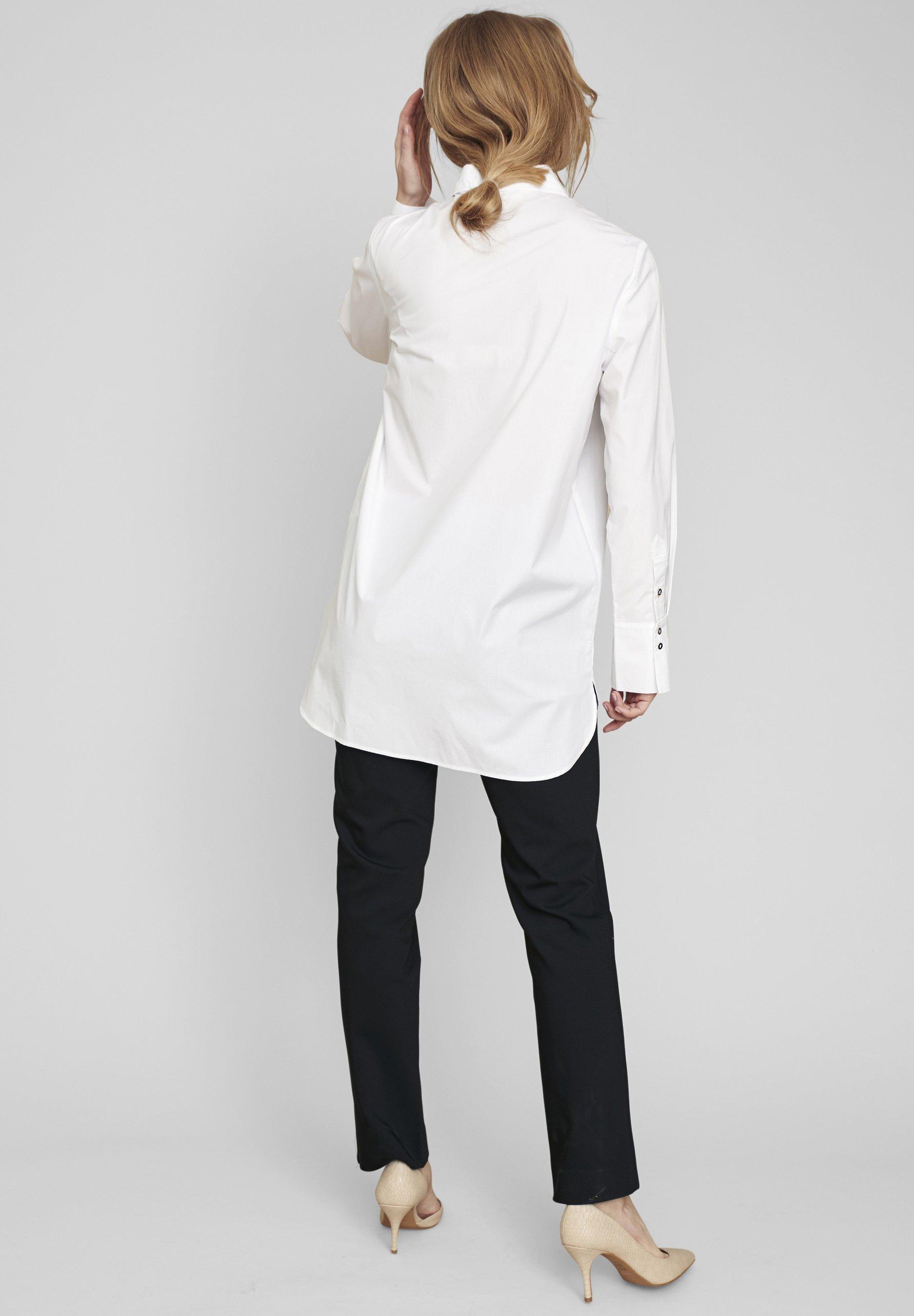 ECHTE Overhemdblouse - white - Dameskleding Oprecht