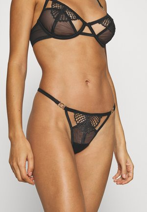 DASHA THONG - String - black