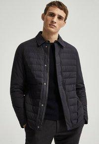 Massimo Dutti - Down jacket - blue - 0