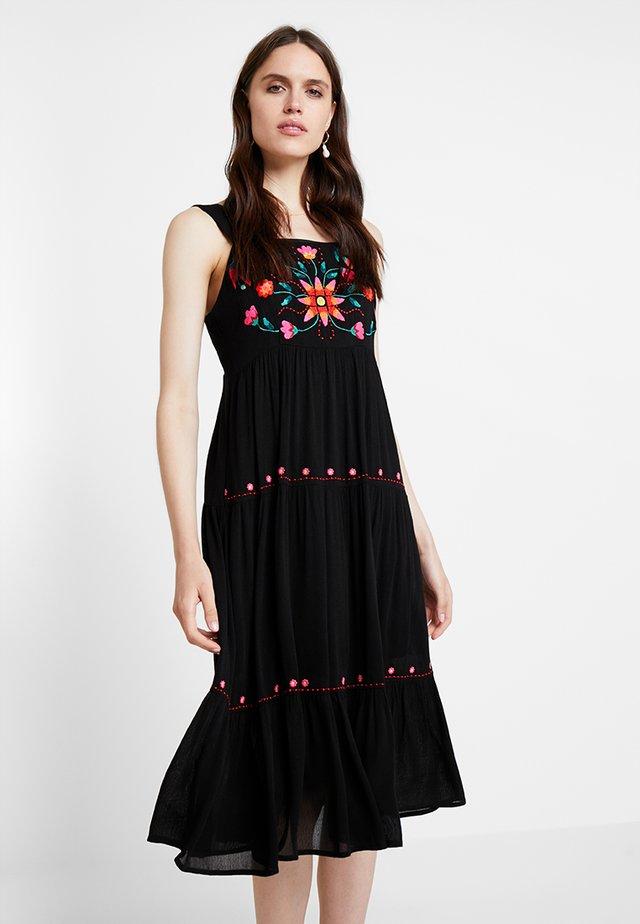 PAZ - Vestito lungo - black