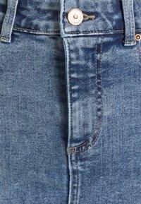 Pieces - PCLILI SKIRT - Minigonna - light blue denim - 2