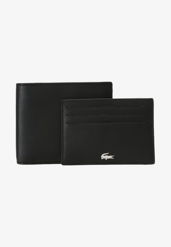 BILLFOLD COIN BOX SET - Monedero - black