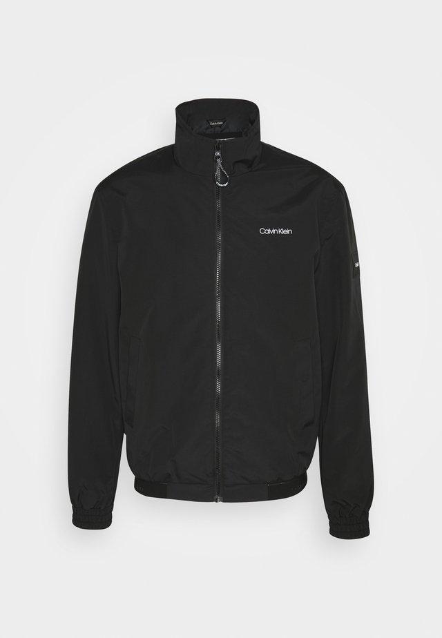 ESSENTIAL BLOUSON - Summer jacket - black