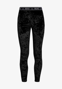 Rojo - WOMENS FULL LENGTH PANT - Calzamaglia - true black - 3