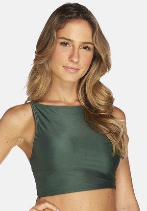 LISOS,STRAPPY  - Bikini top - green