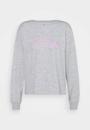 ONLALAIA CHICAGO - Sweatshirt - light grey melange
