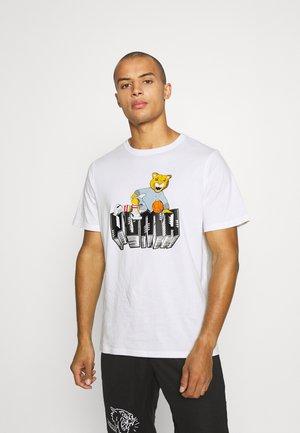 DYLAN TEE  - Print T-shirt - white