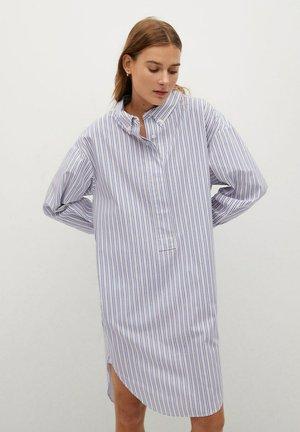 RAYOS-H - Shirt dress - blå
