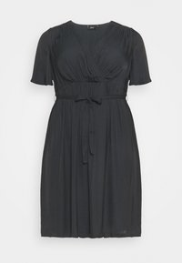 Zizzi - MCLARA DRESS - Day dress - black - 4