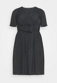 MCLARA DRESS - Denní šaty - black
